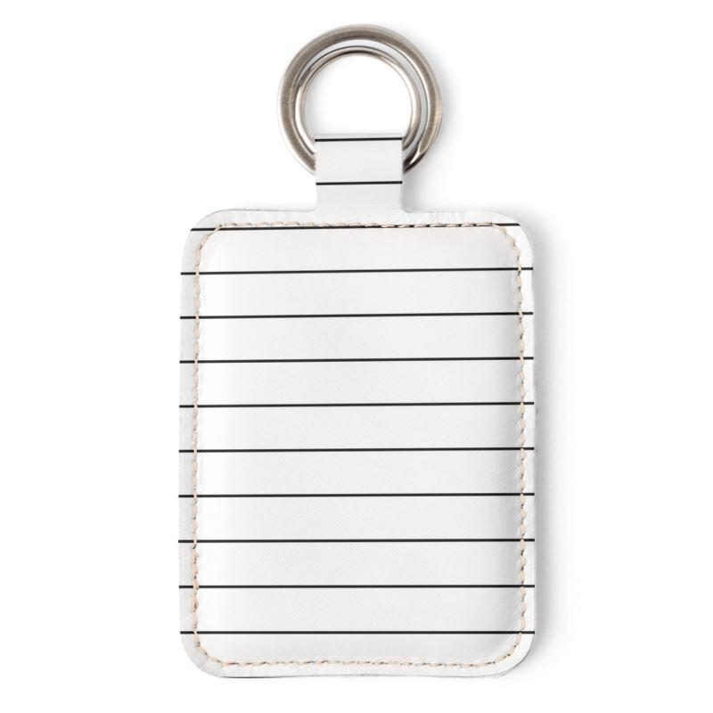 Castlefield Design Simple Stripes Keyring