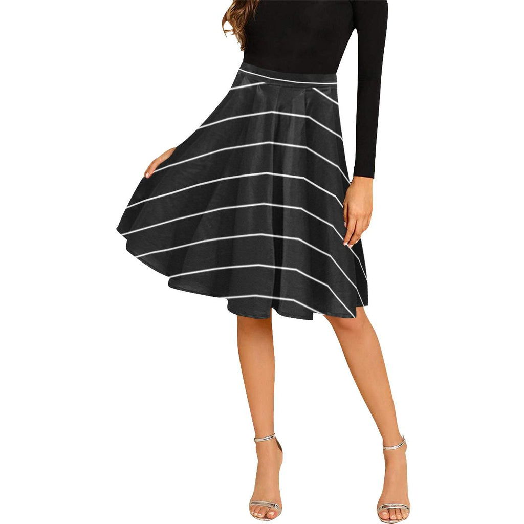 Castlefield Design Simple Stripes Midi Skirt