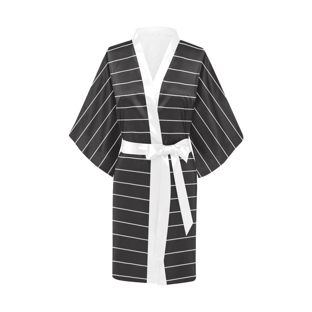 Castlefield Design Simple Stripes Satin Robe