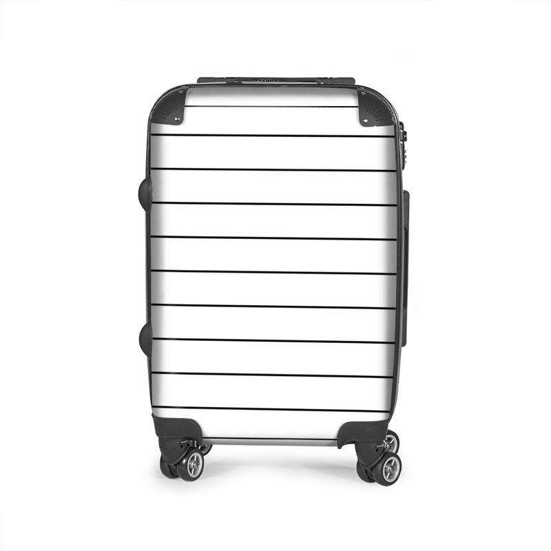 Castlefield Design Simple Stripes Suitcase