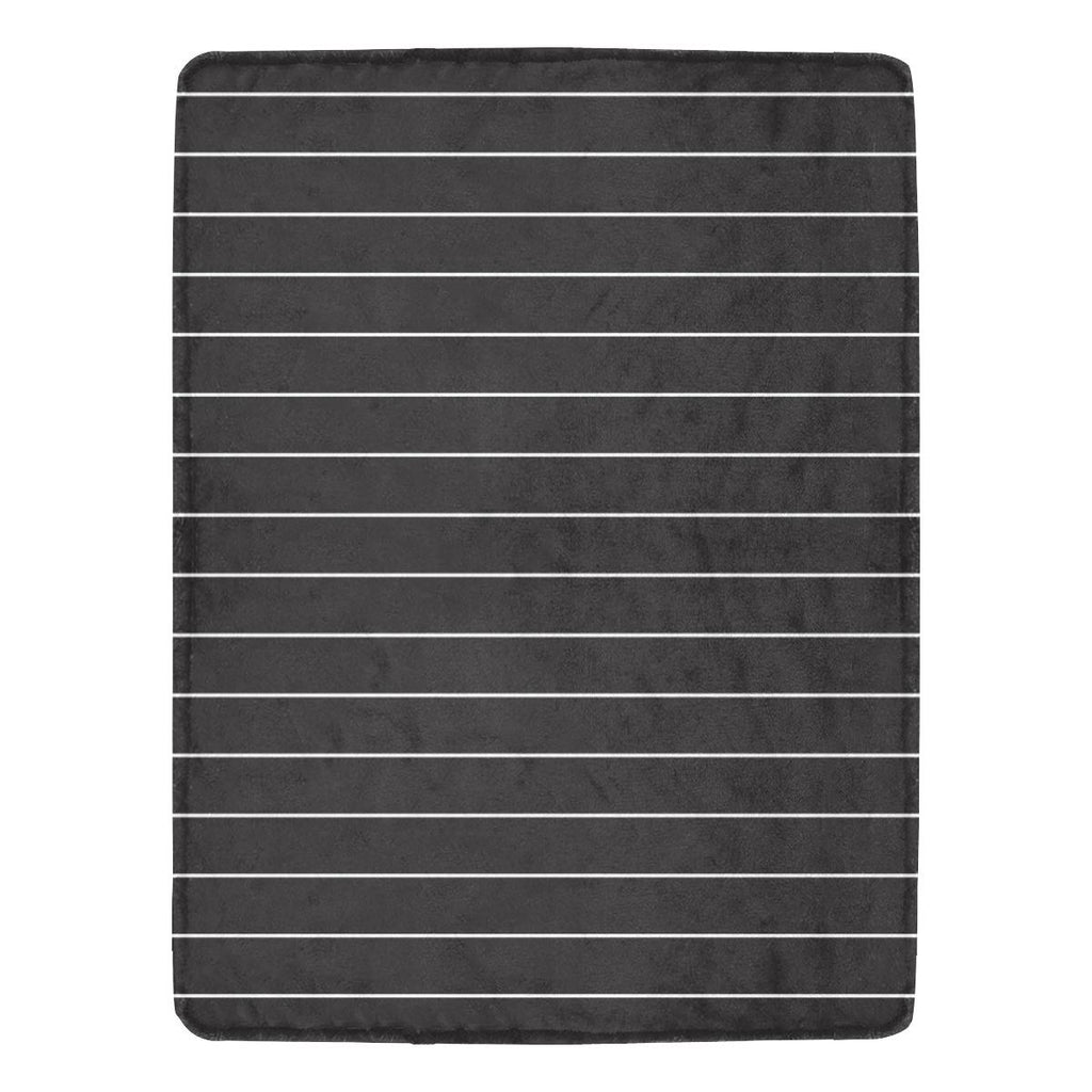 Castlefield Design Simple Stripes Throw Blanket
