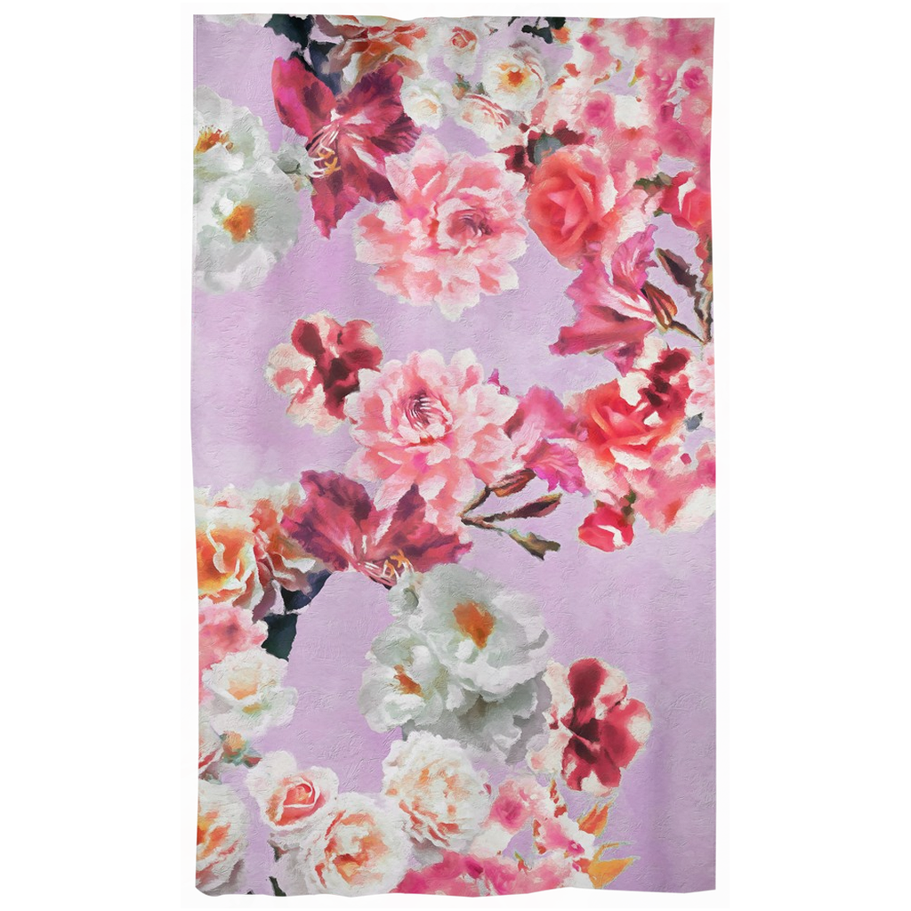 Castlefield Design Sunny Floral Curtains