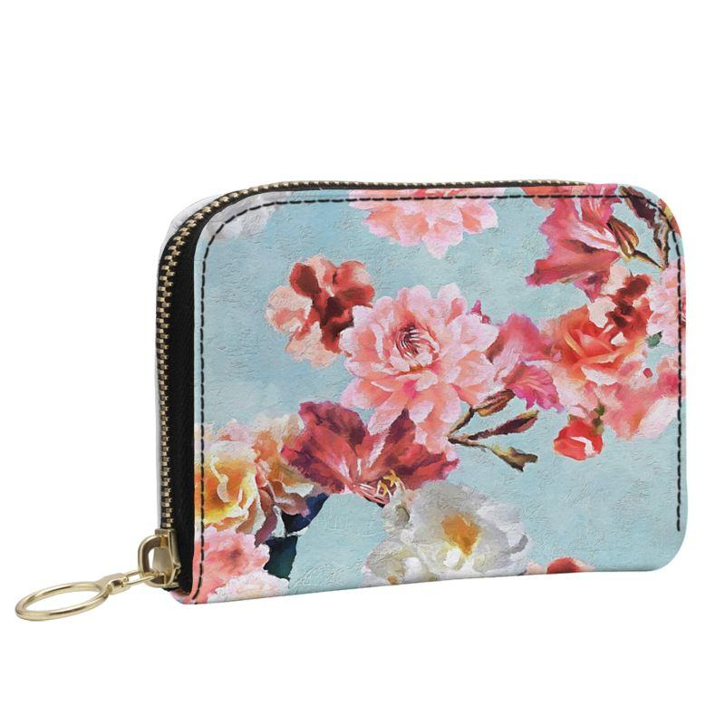 Castlefield Design Sunny Floral Small Wallet