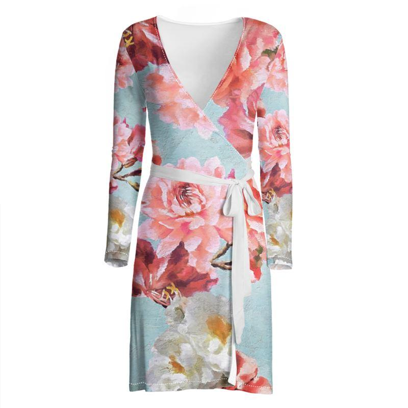 Castlefield Design Sunny Floral Wrap Dress
