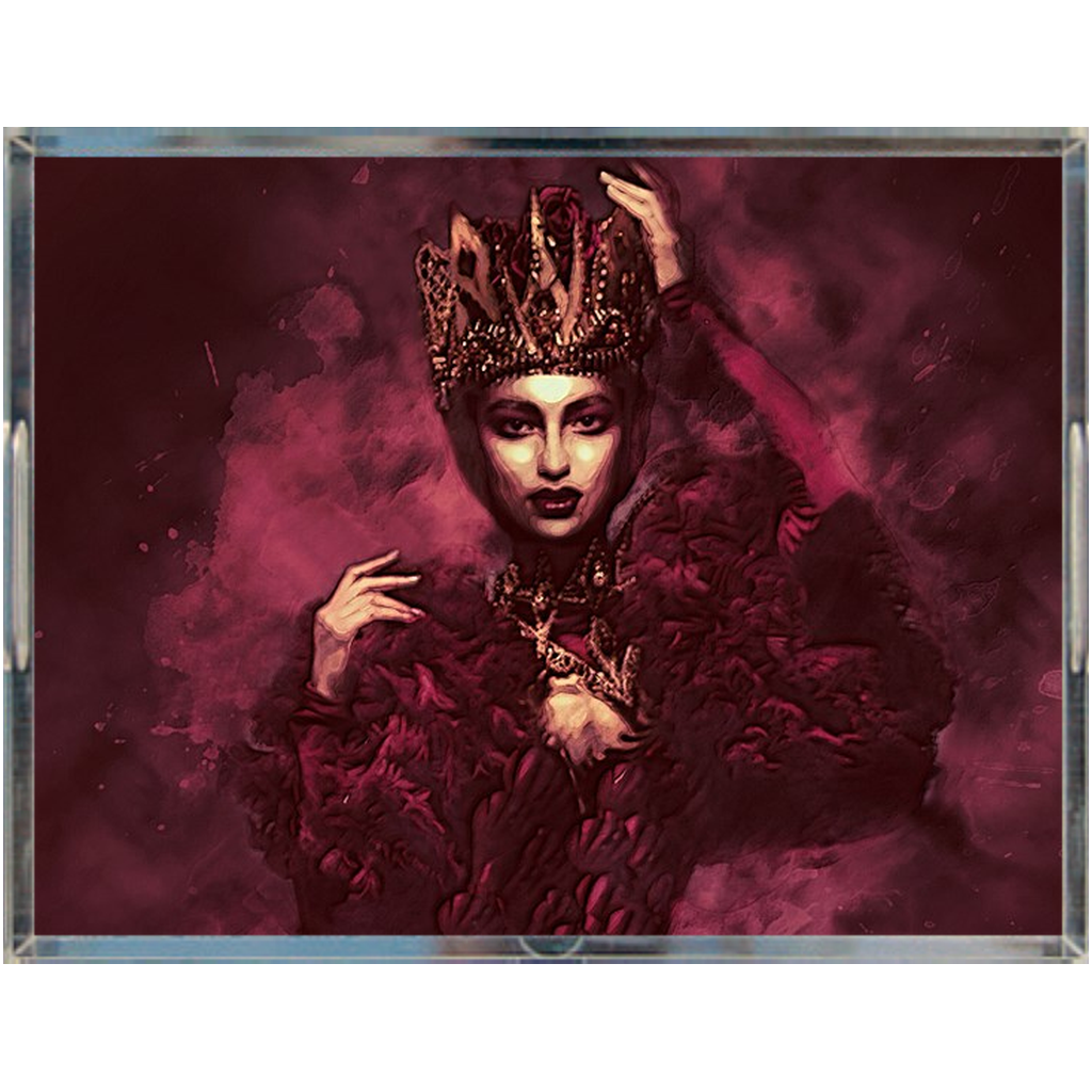 Castlefield Design The Red Queen Acrylic Trays