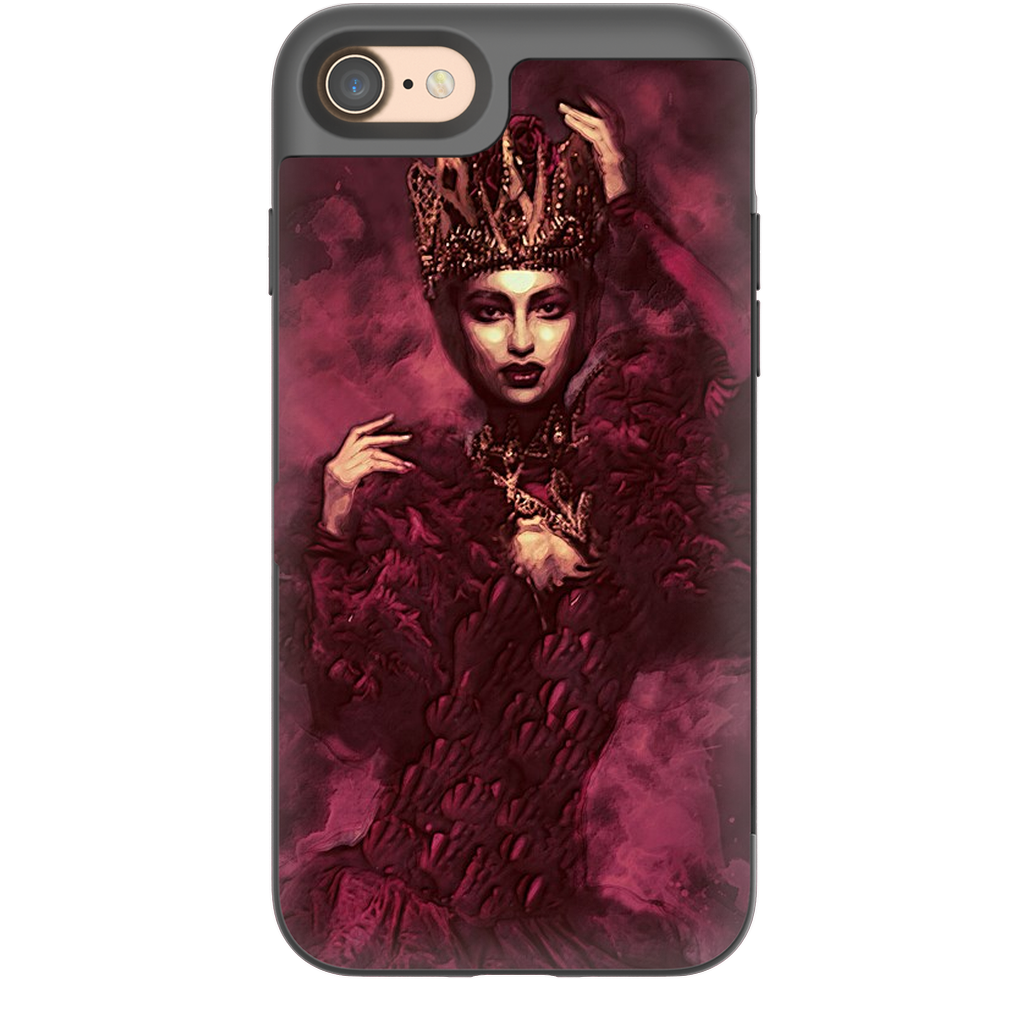 Castlefield Design The Red Queen iPhone Cases