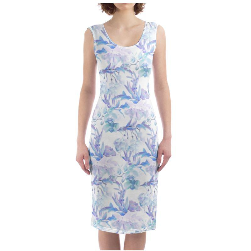 Castlefield Design Tropical Bahamas Bodycon Dress