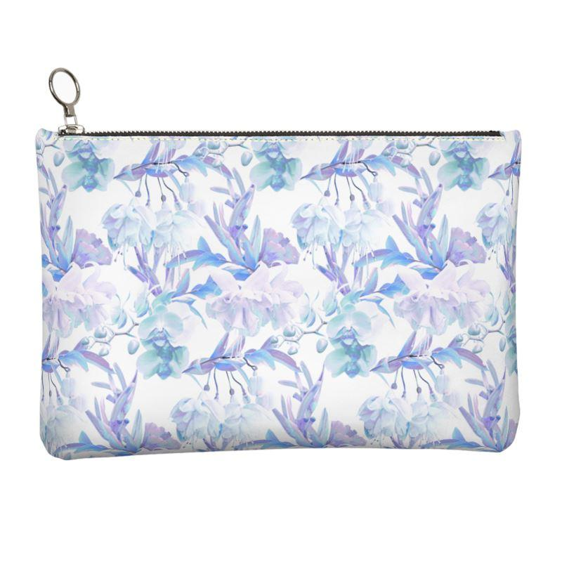 Castlefield Design Tropical Bahamas Leather Clutch