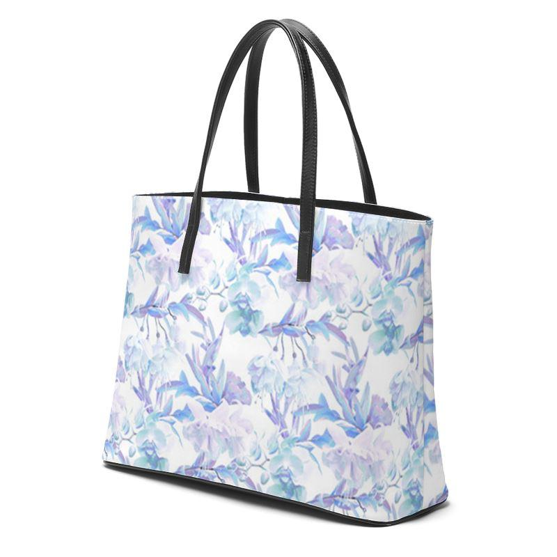 Castlefield Design Tropical Bahamas Leather Tote