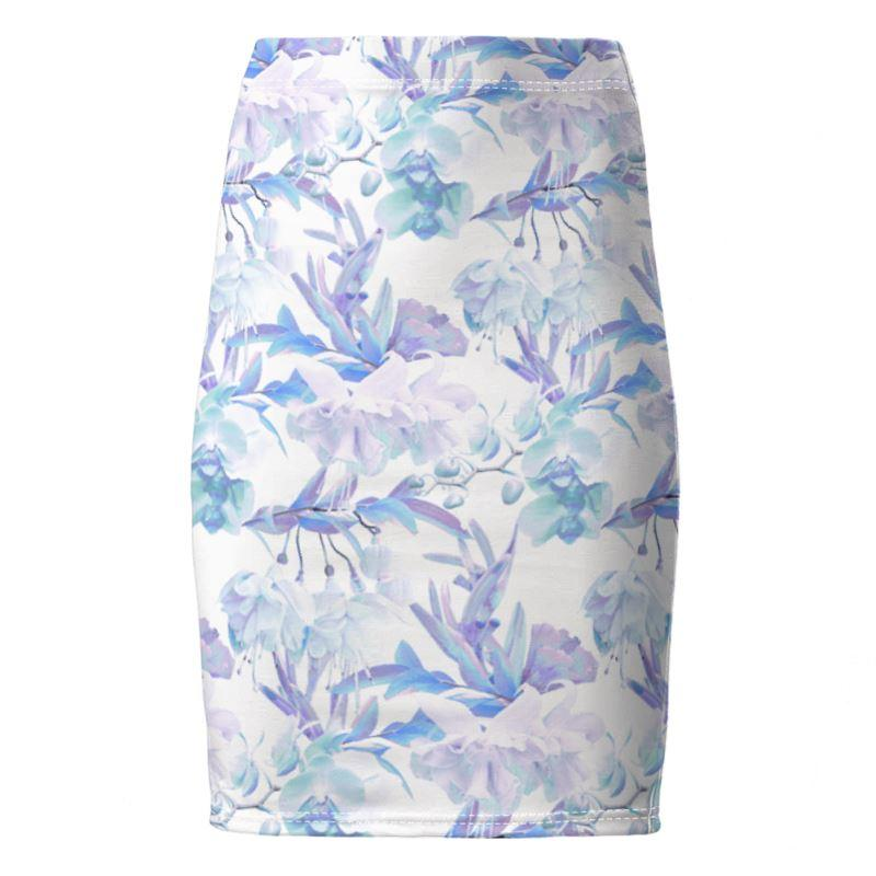 Castlefield Design Tropical Bahamas Pencil Skirt