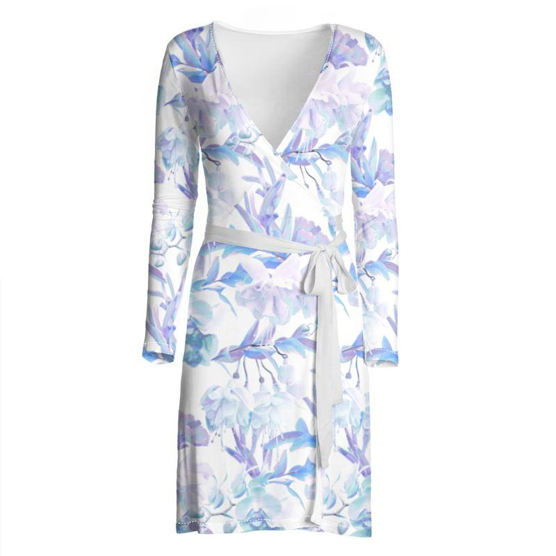 Castlefield Design Tropical Bahamas Wrap Dress