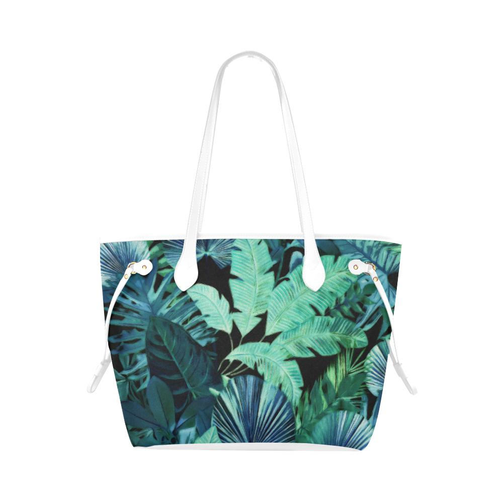 Castlefield Design Tropical Leaf Canvas Tote