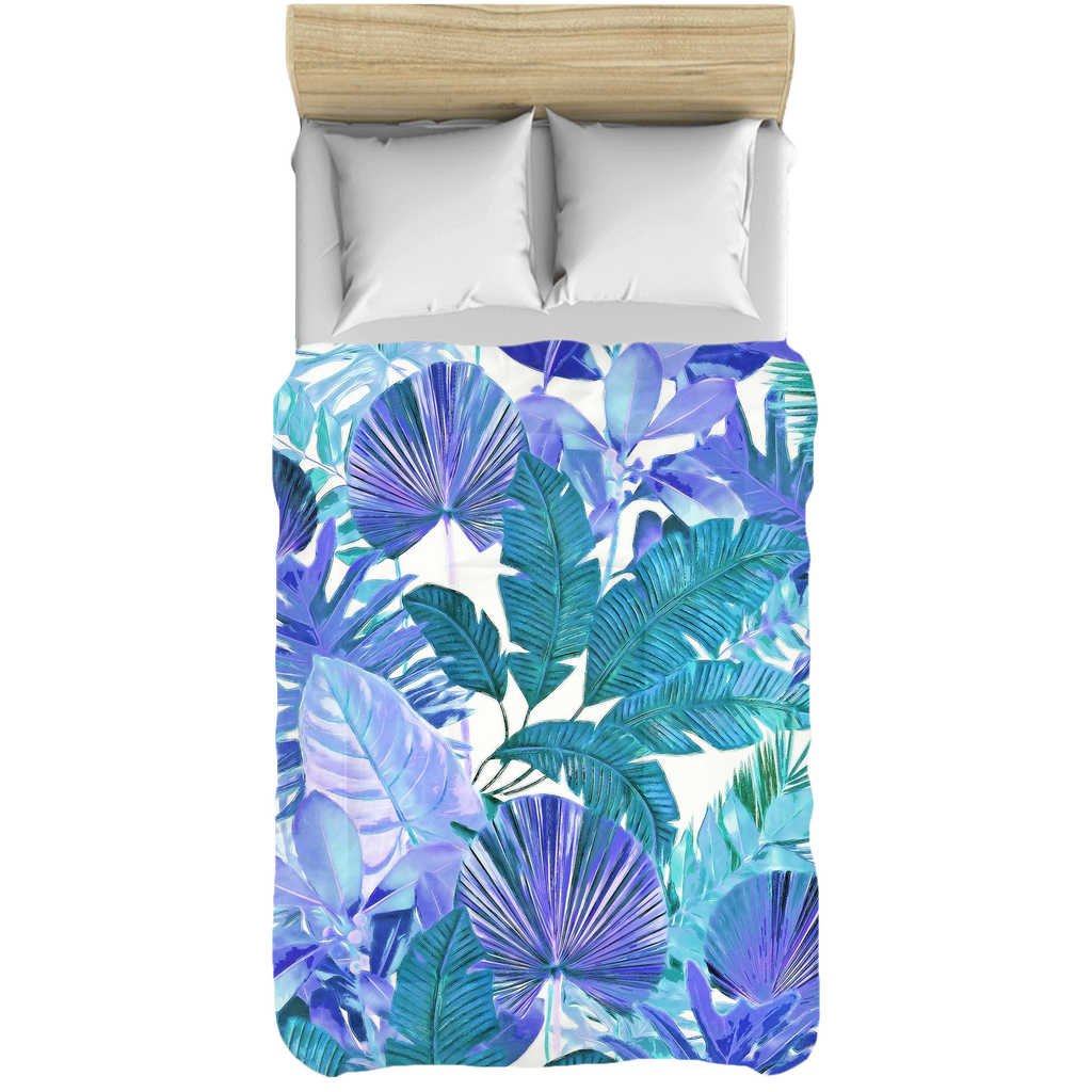 Castlefield Design Tropical Leaf Comforters