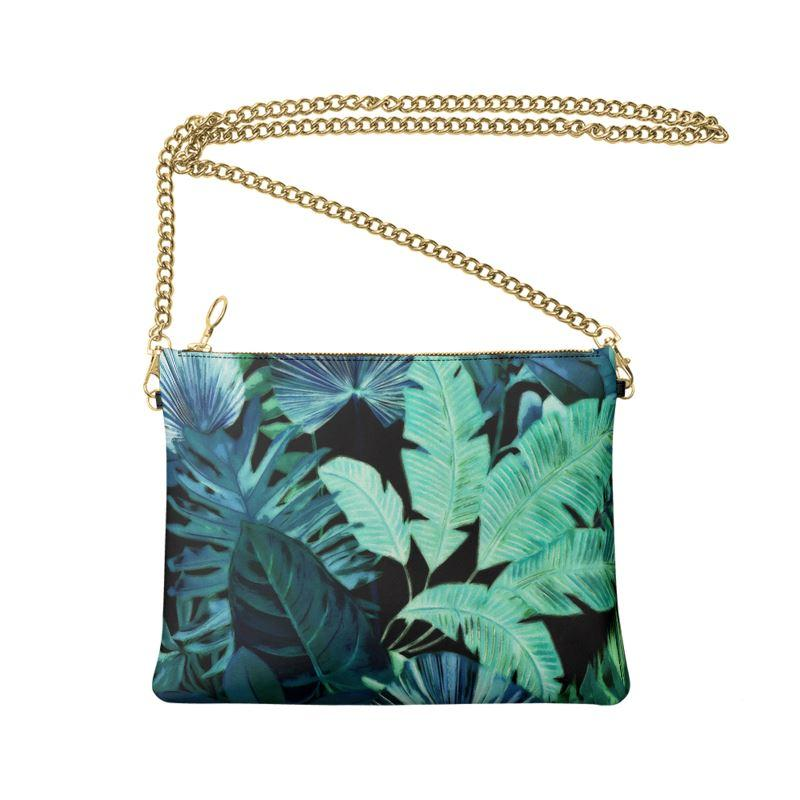 Castlefield Design Tropical Leaf Crossbody Bag