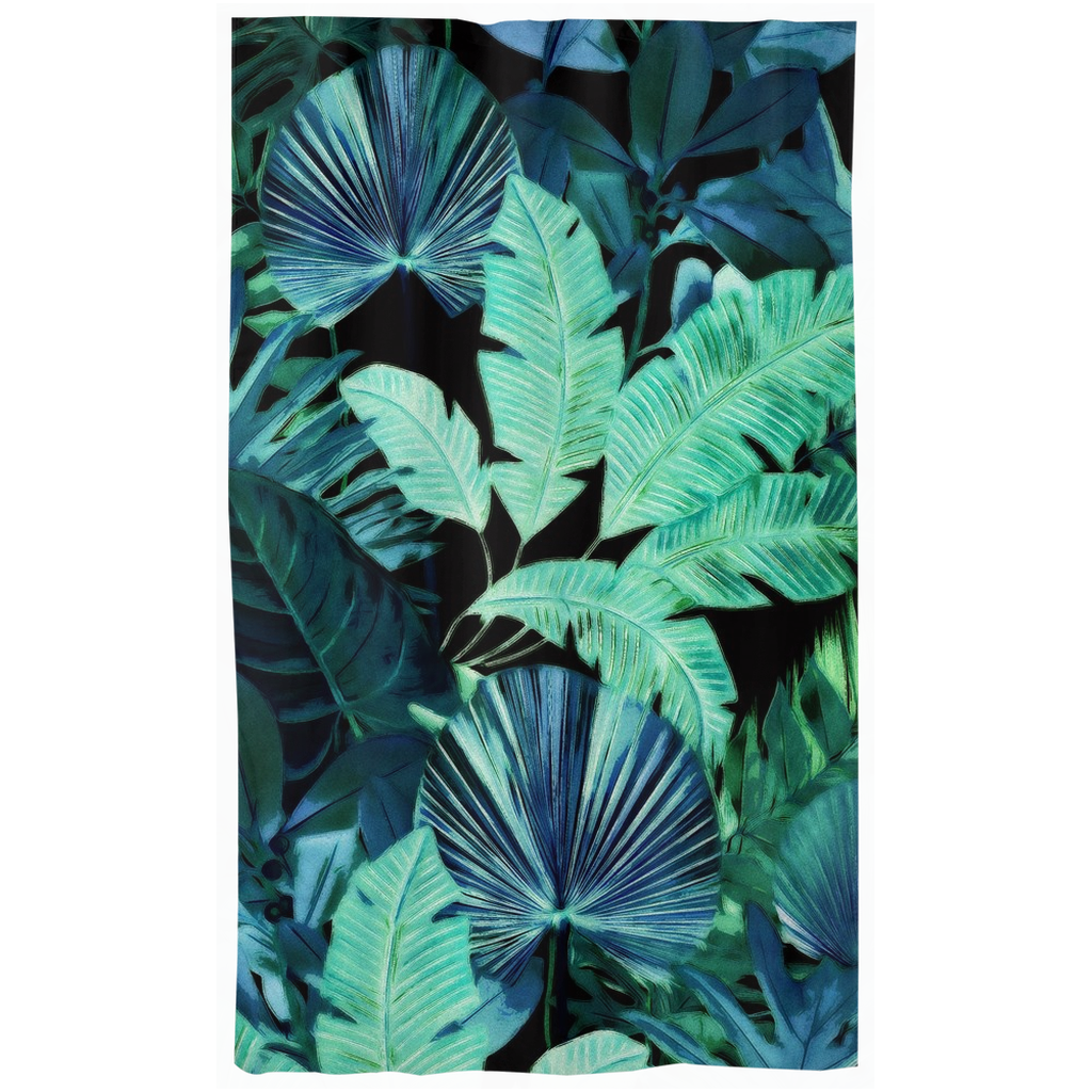 Castlefield Design Tropical Leaf Curtains