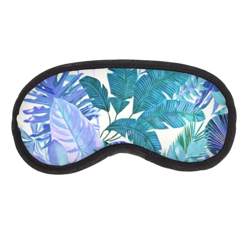 Castlefield Design Tropical Leaf Eye Mask