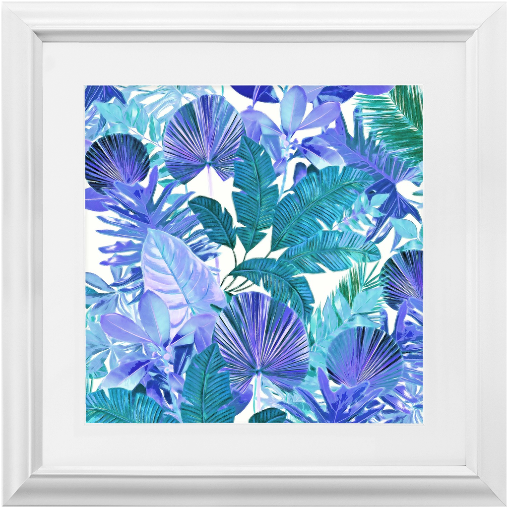 Castlefield Design Tropical Leaf Framed Prints