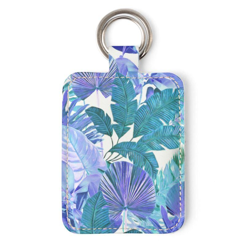 Castlefield Design Tropical Leaf Keyring