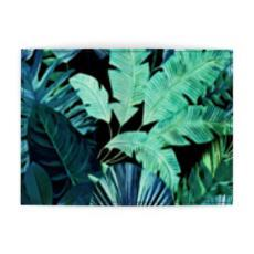 Castlefield Design Tropical Leaf Passport Holder