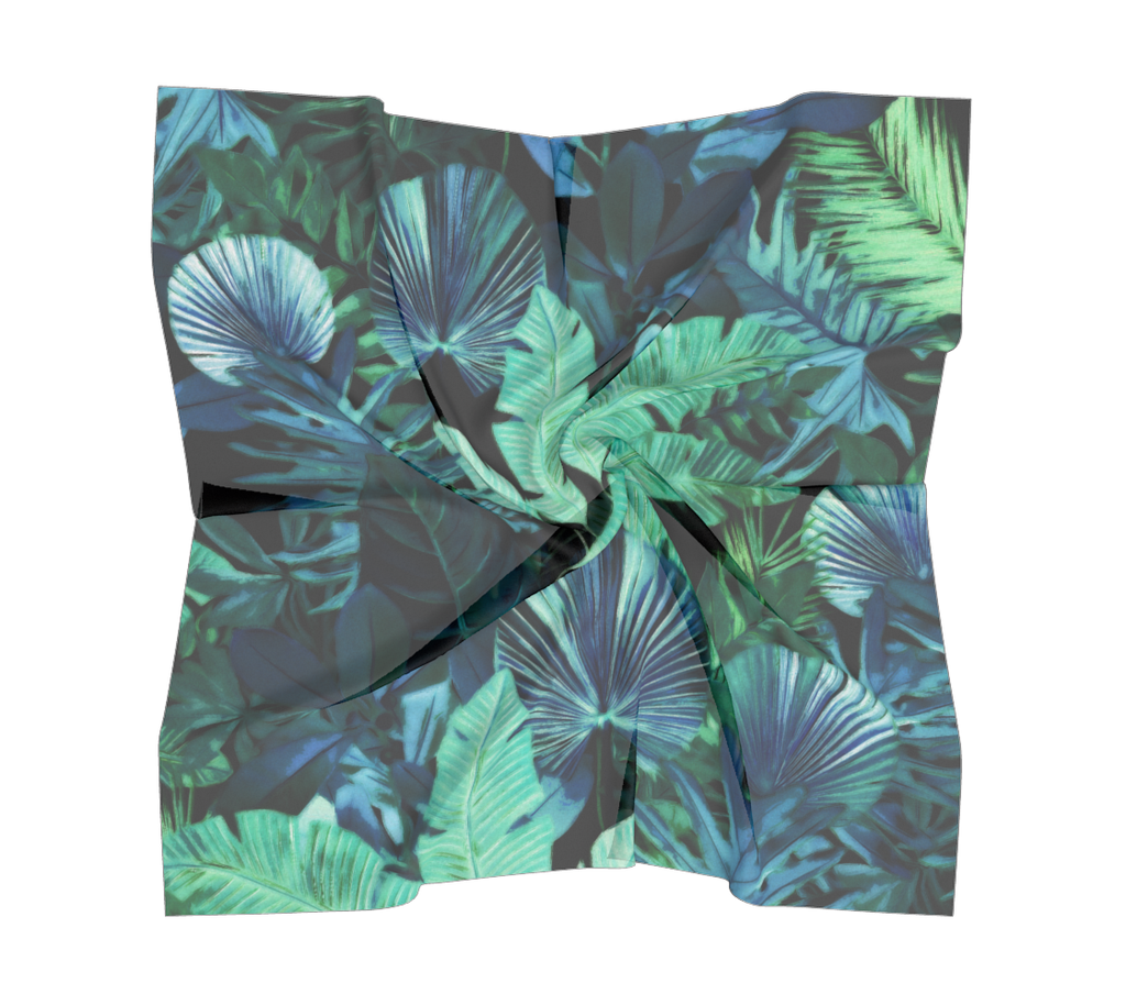 Castlefield Design Tropical Leaf Scarves