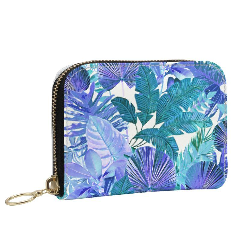 Castlefield Design Tropical Leaf Small Wallet