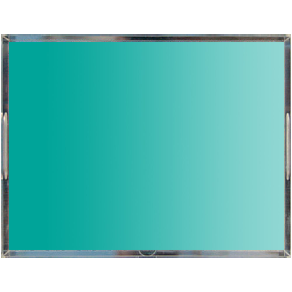 Castlefield Design Turquoise Acrylic Trays