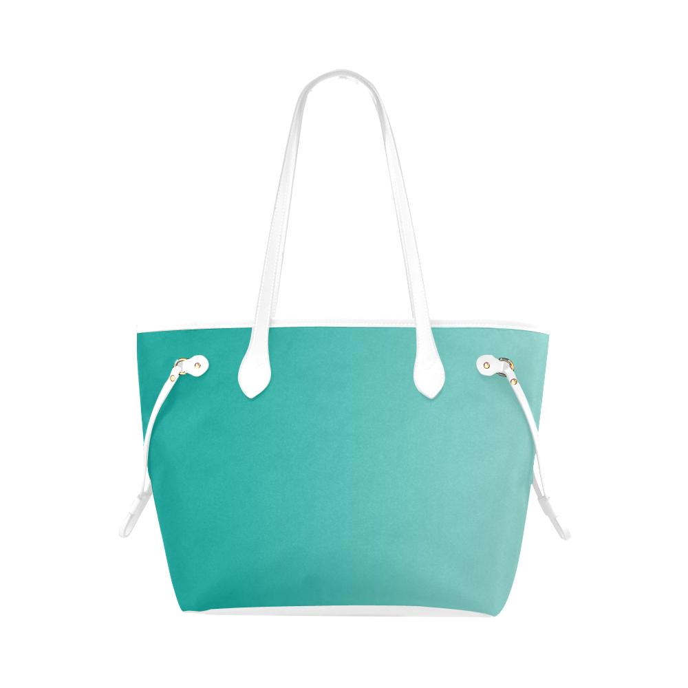 Castlefield Design Turquoise Canvas Tote