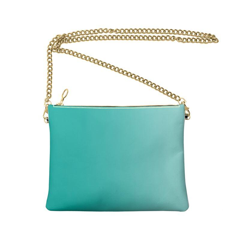 Castlefield Design Turquoise Crossbody Bag