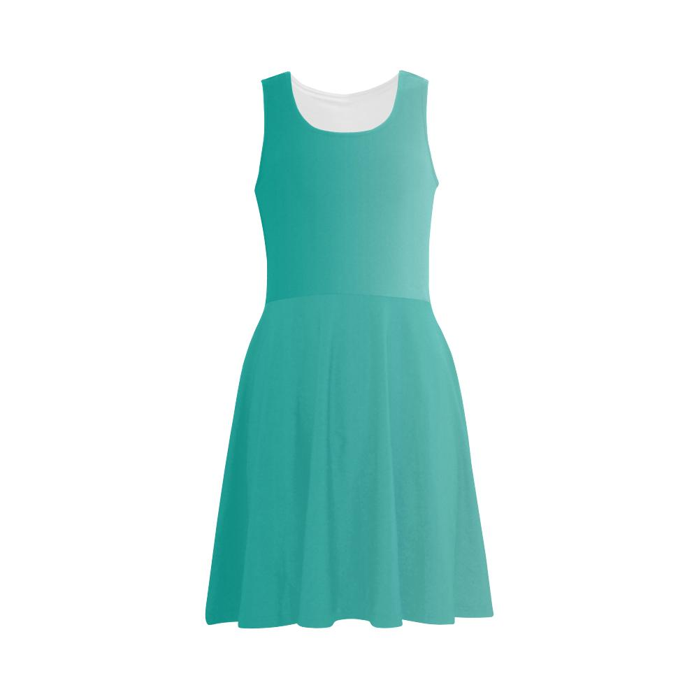 Castlefield Design Turquoise Flare Dress
