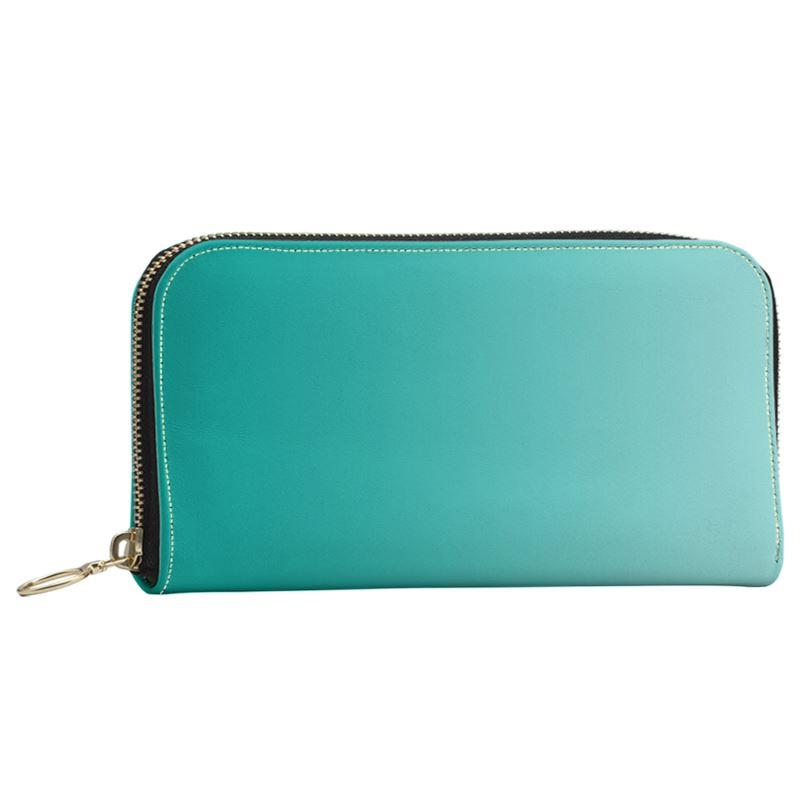 Castlefield Design Turquoise Large Wallet