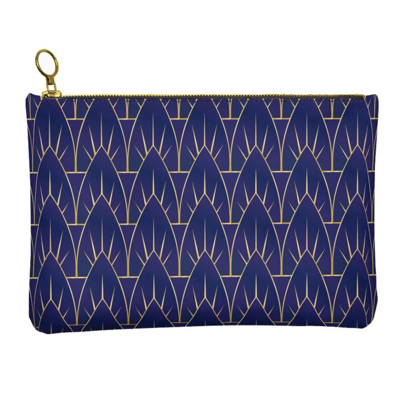 Castlefield Design Valenore Leather Clutch