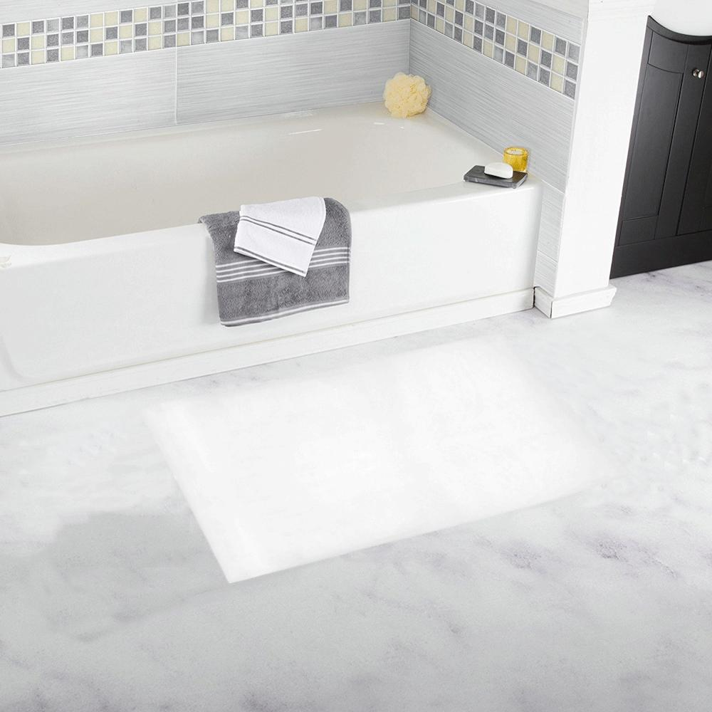Castlefield Design White Bath Mats