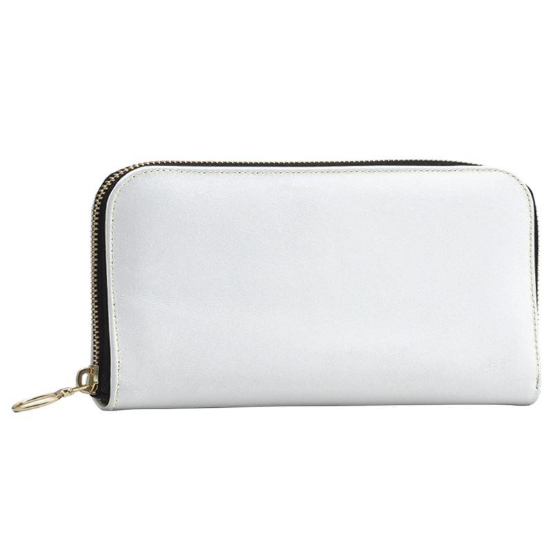Castlefield Design White Large Wallet