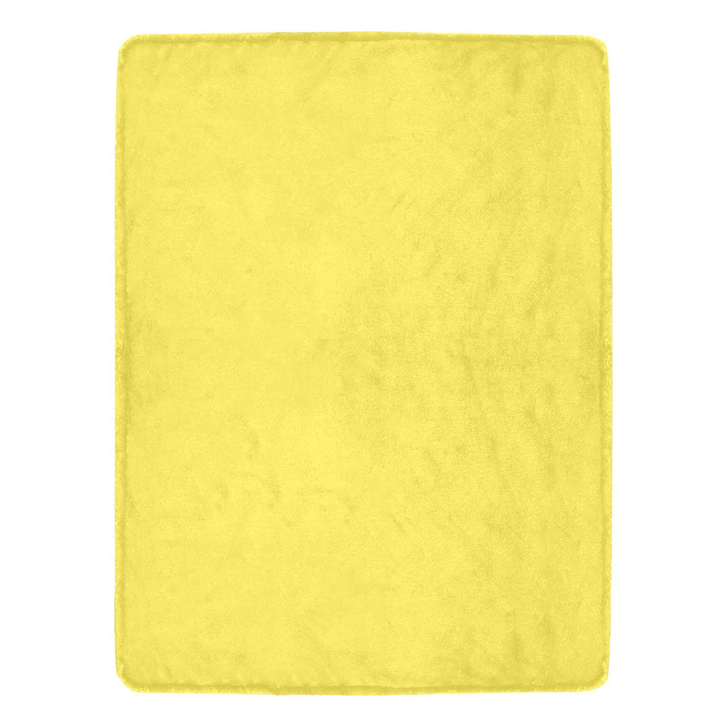 Castlefield Design Yellow Throw Blanket