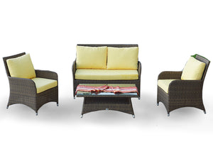 Dreamline Outdoor Garden Balcony Sofa Set 2 Seater , 2 Single seater and 1 Center Table Set Outdoor Furniture