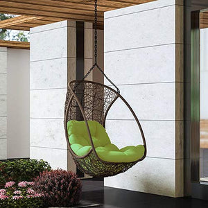 Dreamline Single Seater Hanging Swing Without Stand For Balcony , Garden Swing