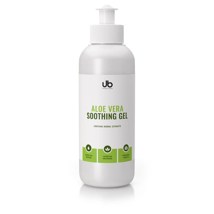 ub aloe vera soothing gel - skin calming