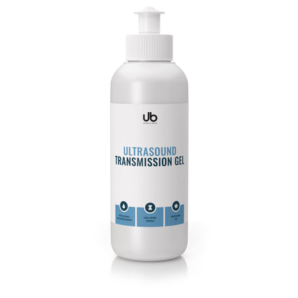 ub ultrasound transsmission gel 250 ml