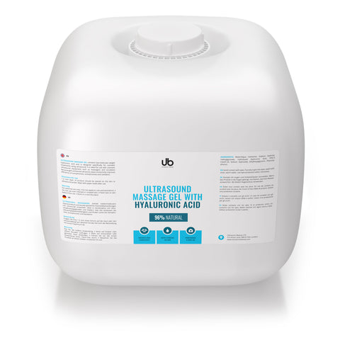 UB Ultrasound Massage Gel - Natural - For Sensitive Skin
