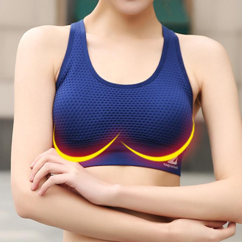Solid Push up Sports Bra - Hiit-Gears
