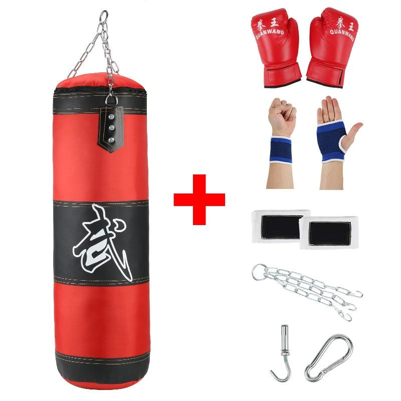 Professional Boxing Punching Bag- Complete Set - Hiit-Gears