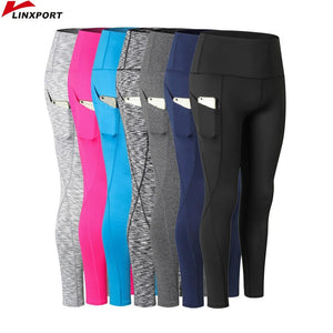 Linxport Women Yoga Capris High Elastic Pants - Hiit-Gears