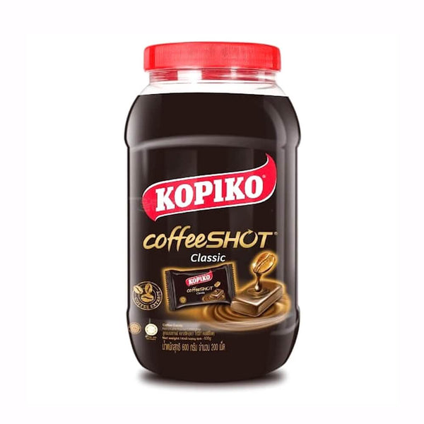 Kopiko Coffeeshot Classic Coffee Candy in a Jar
