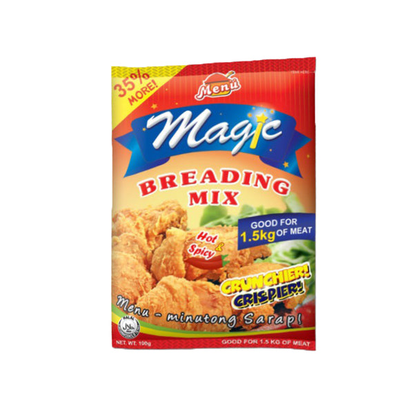 Menu Magic Breading Mix Hot & Spicy