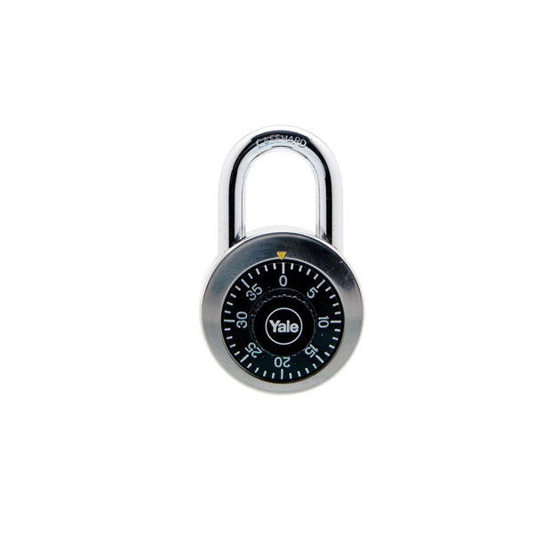 Yale Y140/50/122/1 Combination Padlock w/o Key, VP
