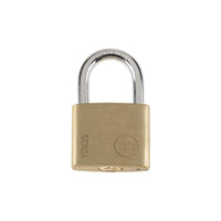 Yale Essential Series Indoor Brass Standard Shackle Padlock 35mm (YE1/35/120/1)