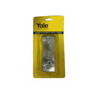 "Yale Hasp & Staple Lock V0095 4"" US26"