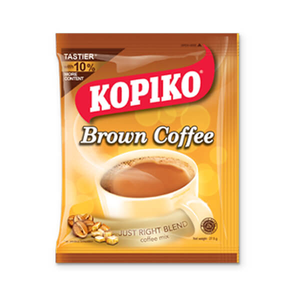 KOPIKO Brown 3 in 1 Instant Coffee Mix