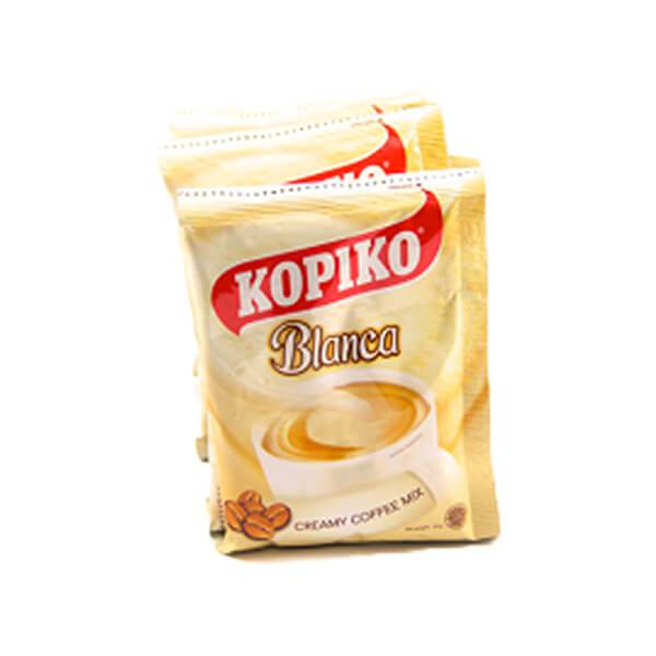 Kopiko Cafe Blanca 3 in 1 Instant Coffee Mix
