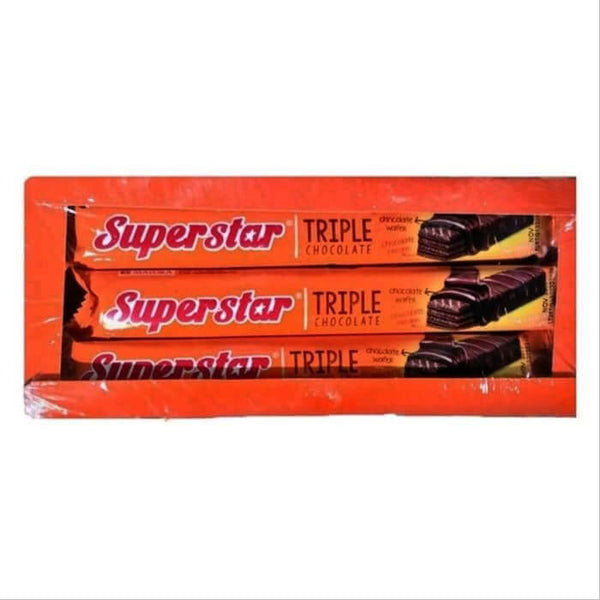 Superstar Triple Chocolate Wafer